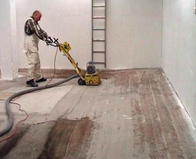 Lopullisen  pinna lattialle teki Pinnoitus Voutilainen - lopputulos todella hyvä
